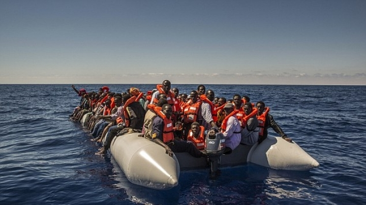 Bodies of 22 migrants were found on a dinghy in Mediterranean Sea