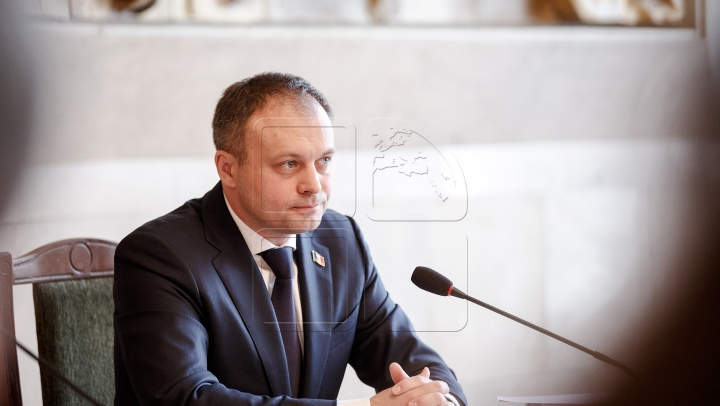 Moldovan speaker meets delegation of American Jewish Committee