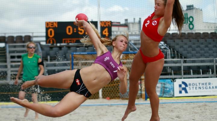 PREMIERE! First beach handball tournament in Moldova