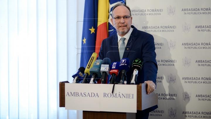 Daniel Ionita is new ambassador of Romania to Moldova