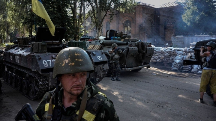 Pro-Russian separatists attacked Ukrainian forces 72 times