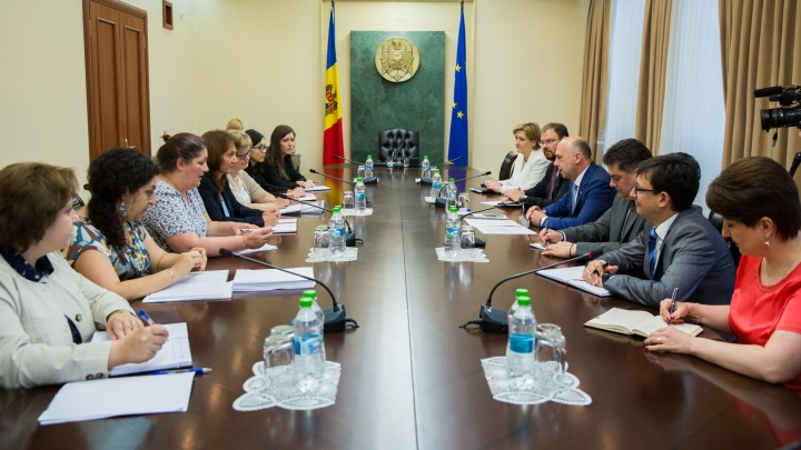 Prime Minister Pavel Filip had a meeting with IMF experts team