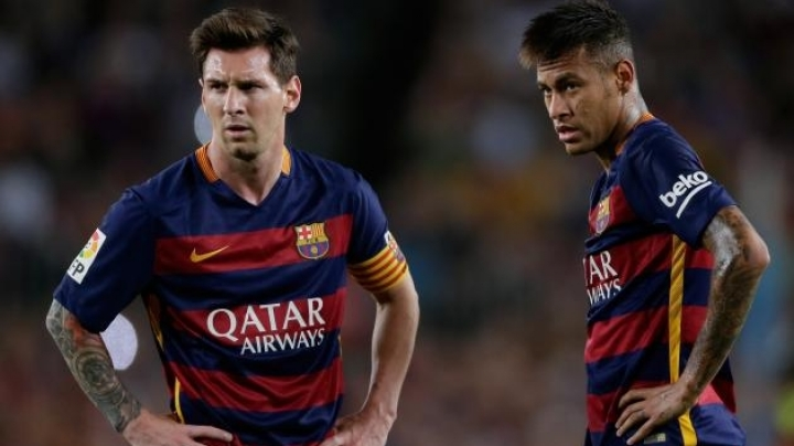 Neymar will replace Lionel Messi as Barcelona's main man as he signs contract for 5 years
