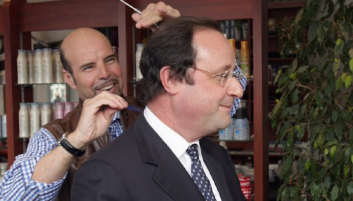 French taxpayers provide EUR10,000 a month for president's hairdresser