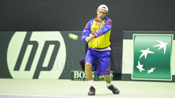 Moldovan tennis player Radu Albot scores good results in Prague's Challenger