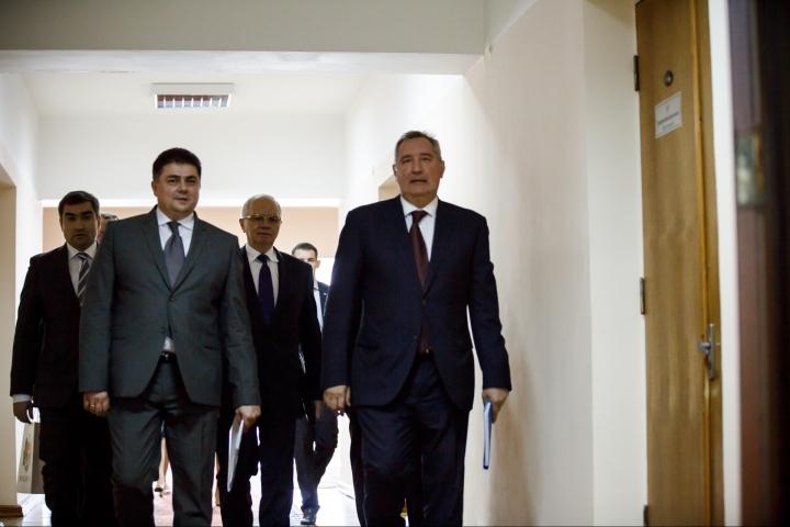 Russian deputy prime minister Dmitrii Rogozin came to Chisinau (PHOTO REPORT)