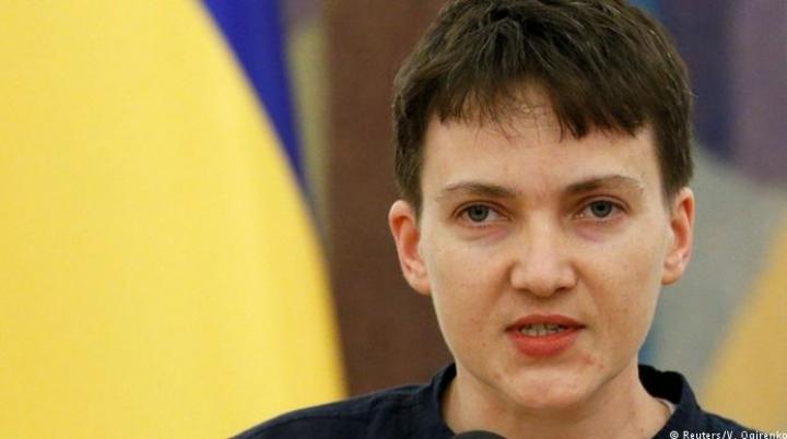 Ukraine's hero Nadiya Savchenko PELTED WITH EGGS in Odessa (VIDEO)