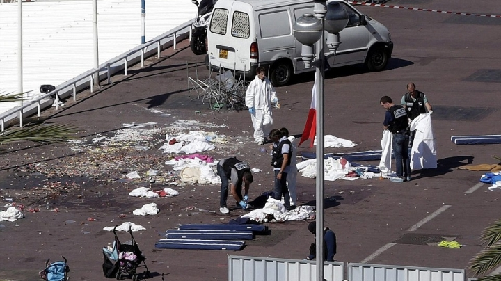 Terrorist gunman, who killed 84 including 10 children during attack in Nice, WAS IDENTIFIED