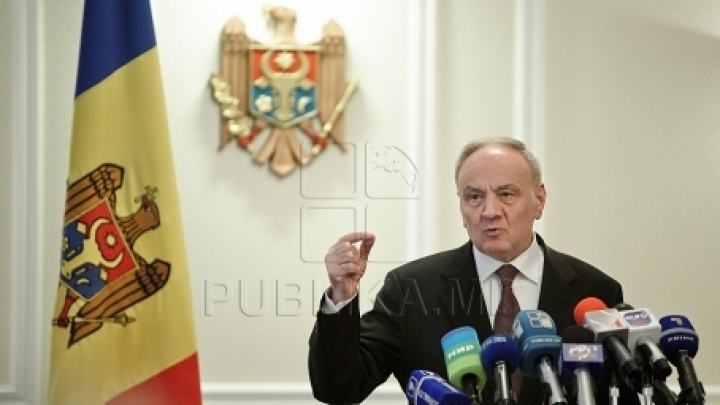 New article in Moldovan Constitution. President Nicolae Timofti's proposal