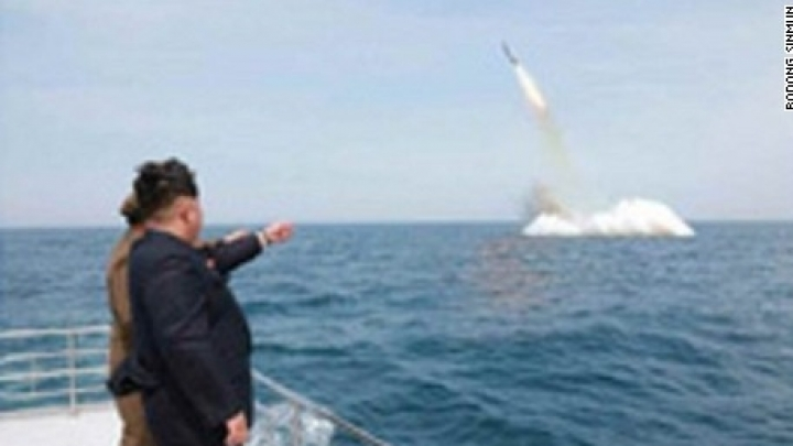 North Korea launches missile from submarine, but, alas, unsuccessfully