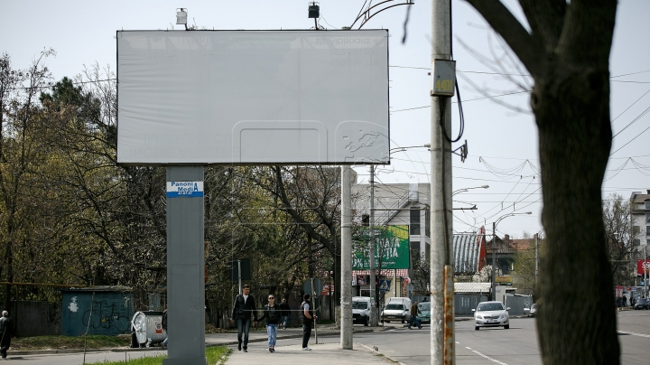 Billboards on Dacia avenue will be dismantled until next week