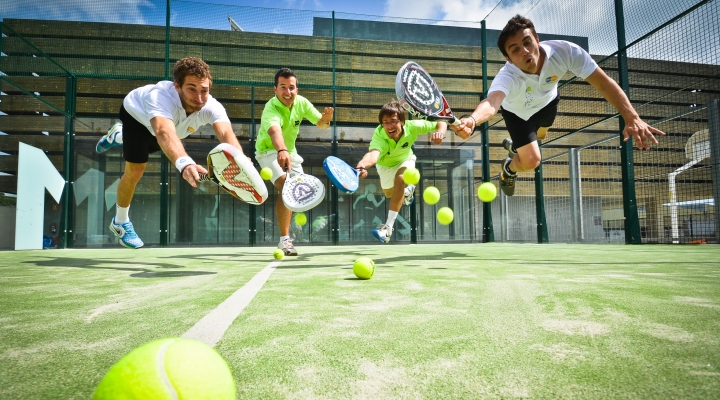 World Record: Four Romanians want to play the longest game of padel