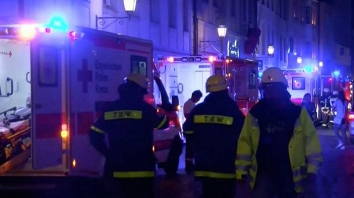 New explosion in Germany. Police say it was a Syrian asylum seeker