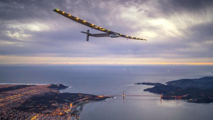 Solar-powered plane to arrive in Egypt, last halt before Abu Dhabi