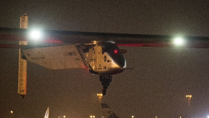 FINAL LEG: Solar Impulse 2 takes off from Cairo to Abu Dhabi