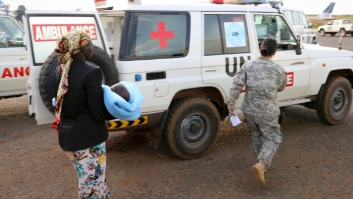UN Chinese peacekeepers KILLED amid violence in South Sudan