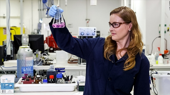 US startup turns carbon dioxide into 'good stuff'
