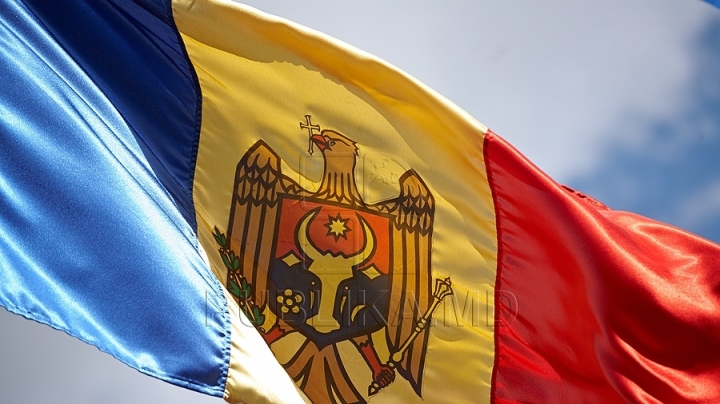 Moldovan sportsmen received national flag from prime minister Pavel Filip for Olympic Games