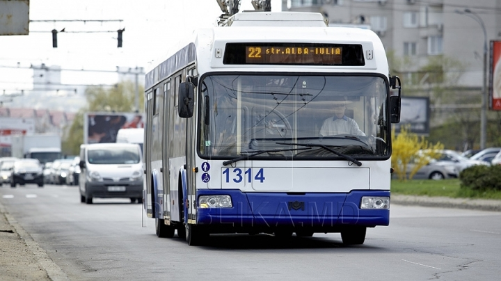 Public transport in Chisinau will be equipped with GPS system