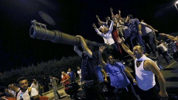 FAILED coup d'etat in Turkey. 1,500 military ARRESTED