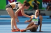 Runners help each other at Rio Olympics 2016