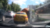 NO COMMENT: A sewage truck explodes in rush hour traffic in Moscow