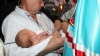 Moldova's mitropolitan bishop to baptize fourth babies in families
