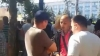 Jurnal TV prepares manipulation persons at pro-Russian protest in National Assembly Square