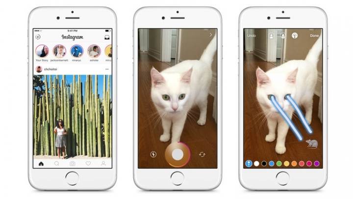 Instagram Takes a Page From Snapchat, and Takes Aim at It, Too