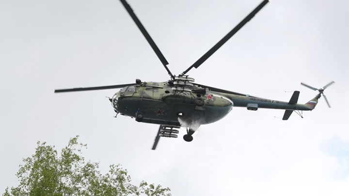 Russian helicopter shot down in northern Syria