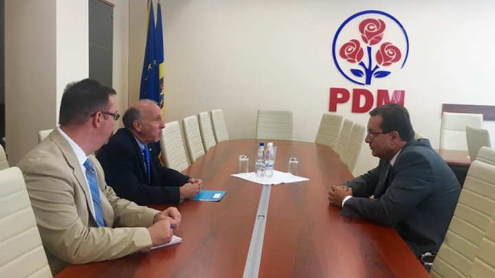 President of Democratic Party Marian Lupu had a meeting with US ambassador to Moldova
