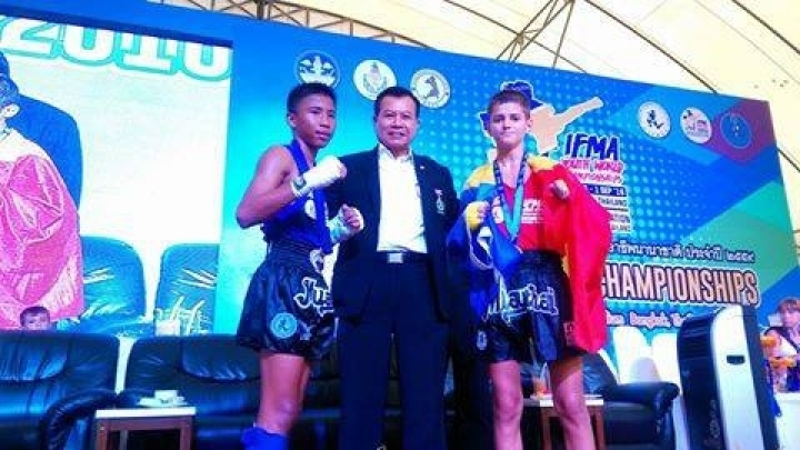 Moldovan athlete won a silver medal in Muay Thai World Championship
