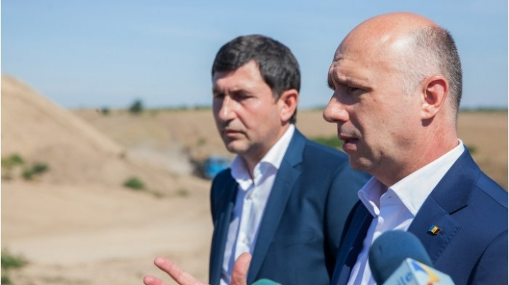 Prime Minister Pavel Filip asked for solutions to be indentified to repair Anenii Noi damaged road