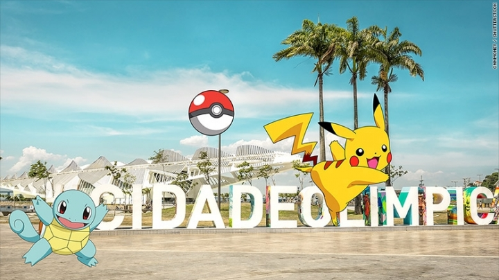 Let the games begin! Pokemon Go arrives in Rio in time for Olympics