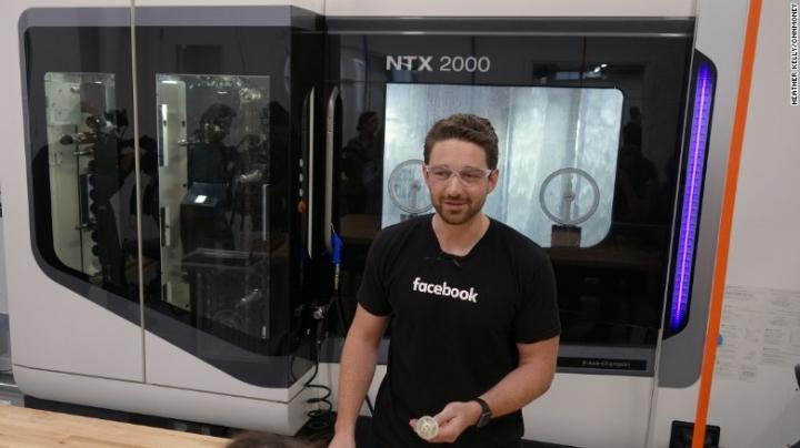 Inside Facebook's crazy new hardware lab