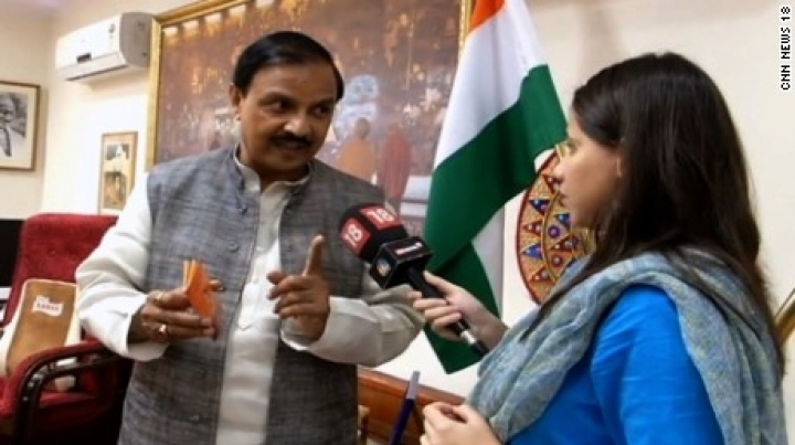 Safety tip from India's tourism minister: Don't wear skirts