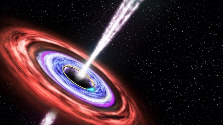 Bursts of energy from black holes could wipe out life on Earth WITHOUT warning