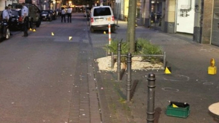 Manhunt under way after slashing and shooting in German city of Cologne