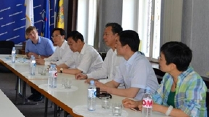 Chinese Entrepreneurs come to establich ties with Moldovan Parteners