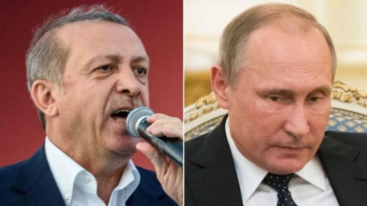 Turkey's President Erdogan in St Petersburg to 'reset' Russia ties