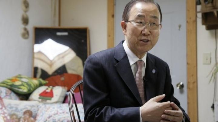 Ban Ki-moon says that is time for a woman to take lead as UN Secretary General