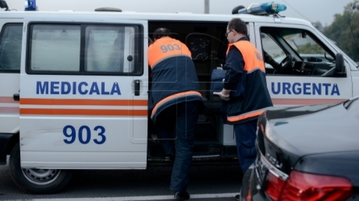 Ambulance accident in Chisinau. A nurse was hospitalized