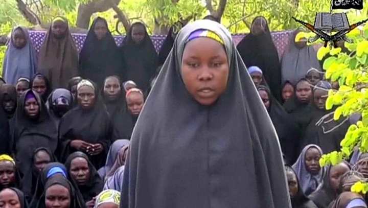 Nigerian militant group Boko Haram releases video of kidnapped school girls