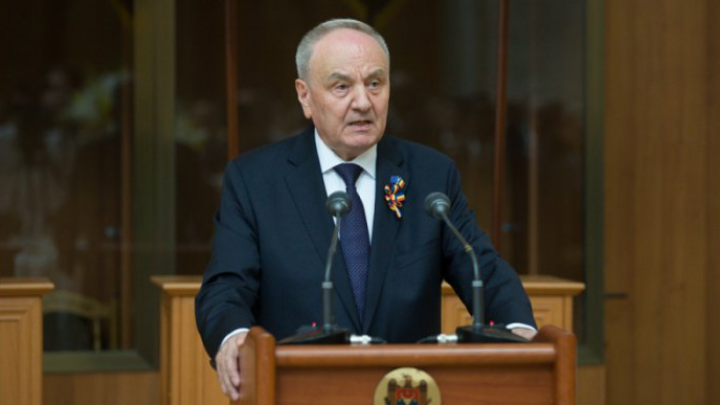Moldovan president hosts reception on Independence Day