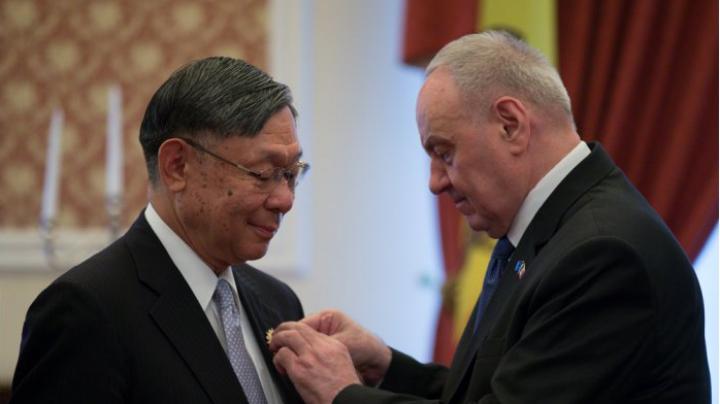 Japanese Ambassador gets Order of Honor