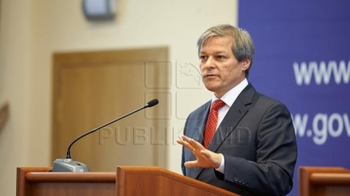 Romanian Prime Minister in visit to Moldova