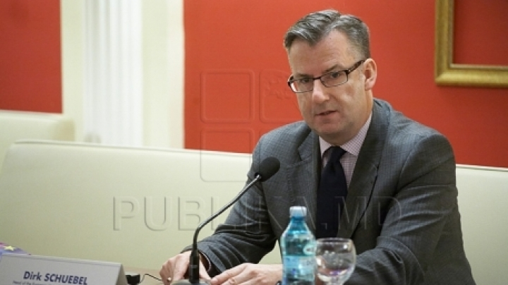Exclusive interview for PrimeTV channel: Dirk Schuebel on Moldova's situation