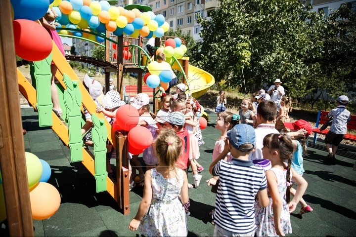 """Edelweiss Parks"", a new campaign launched for improving childhood started in Ialoveni and Hancesti"
