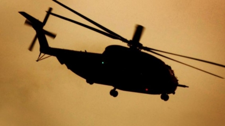 A chopper, registered in Moldova, had a forced landing in Afghanistan