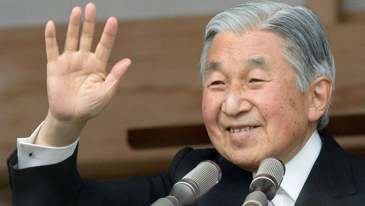 Japanese Emperor suggests he wants to abdicate because of age